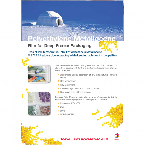 Referenzmaterialien für Tiefkühlverpackungen aus metallocen PE - Bild