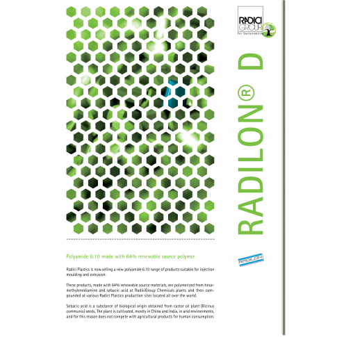 Radilon® D - PA 6.10, zu 64% aus nachwachsenden Rohstoffen - Bild