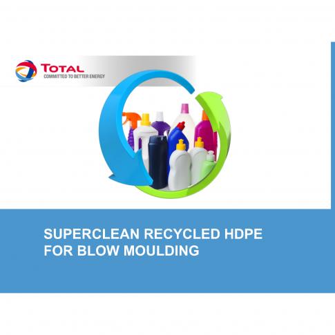 25-50% Rezyklat und HDPE Neuware vereinen Performance, Sauberkeit und Nachhaltigkeit - Bild