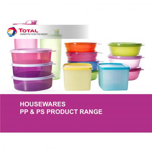 Haushaltsartikel und Küchenwaren aus PP und PS - Bild