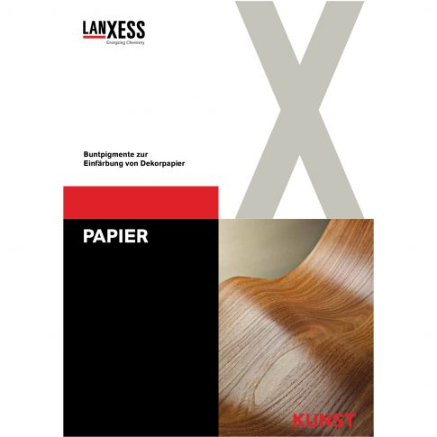 Dekorpapier -gelbbraune und rotbraune Grundtöne für die Möbel- und Fußbodenindustrie - Bild