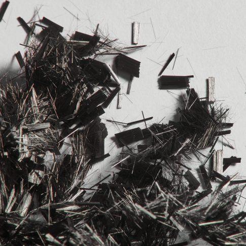 Carbonfasern als Kurzschnitte - Bild
