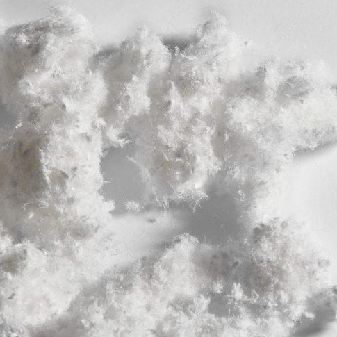 Polyacrylnitrilfaser als Pulpe oder Fibride - Bild
