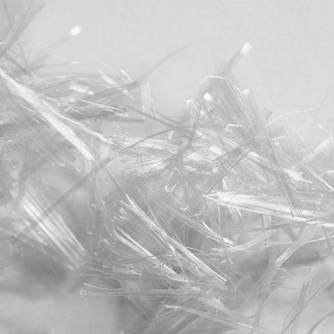 Polypropylenfasern als Kurzschnitt - Bild