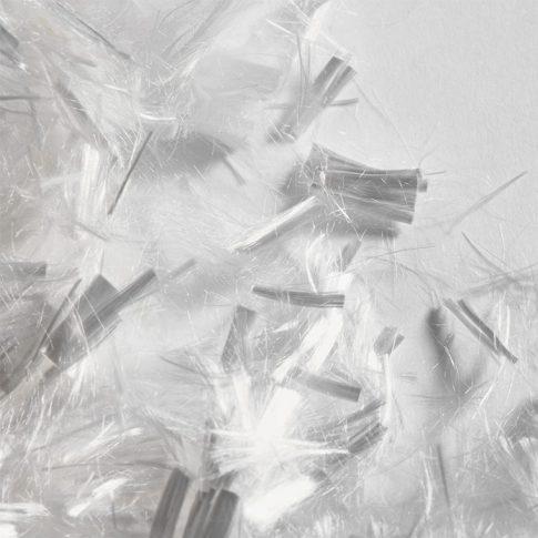 Zellwolle als Kurzschnitt - Bild