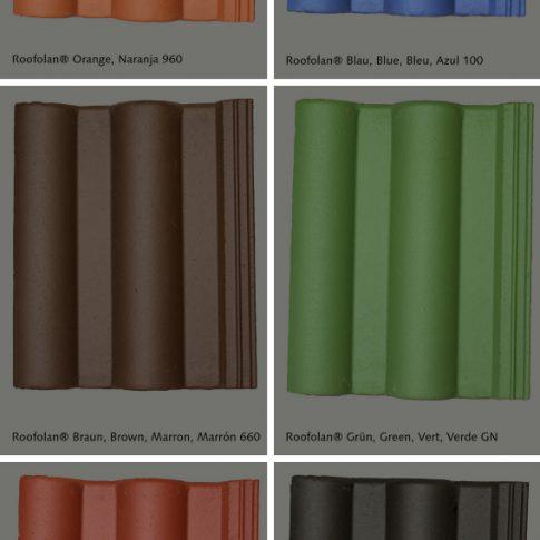 Farbtonkarte Roofolan - Bild