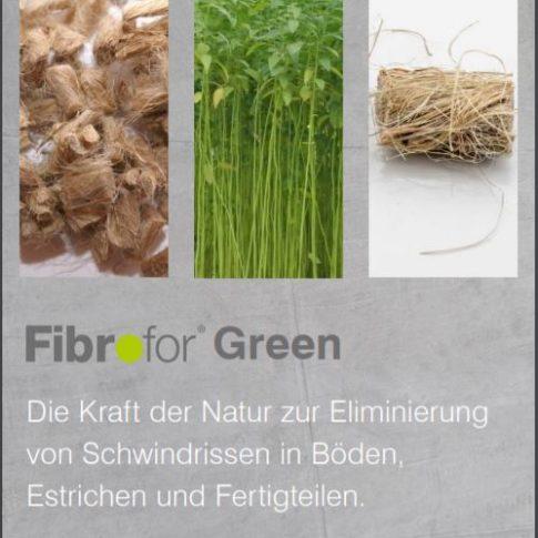 Flyer Fibrofor Green - Bild