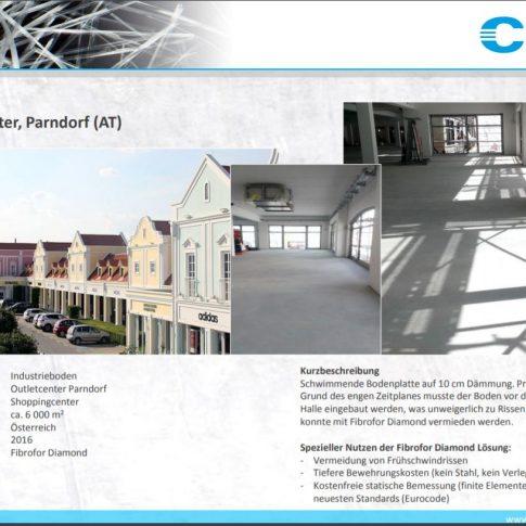 Objektbericht schwimmende Bodenplatte Parndorf - Bild